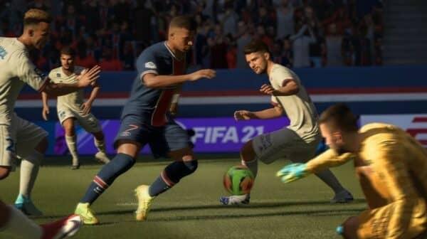 stadia fifa 21 group screenshot